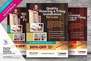 Flooring & Tiling Company Flyers