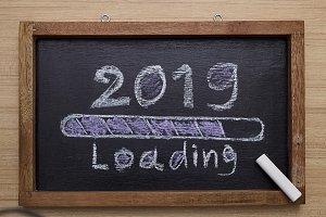 progress bar loading of 2019