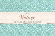 Set of 72 vintage patterns