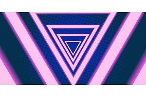 triangle eighties background 80s