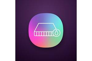 Waterproof mattress app icon