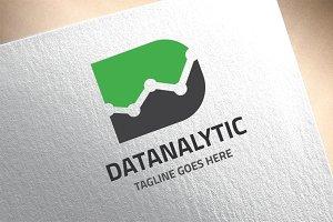 Letter D - Datanalytic Logo