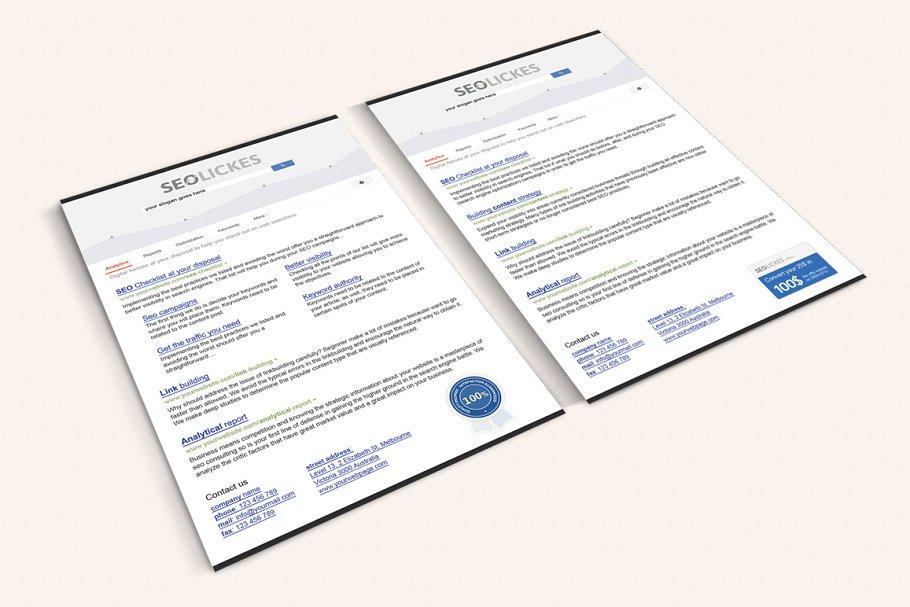 Flyer SEO and Digital Marketing