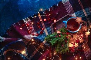 Cookies, tea and fairy lights flat