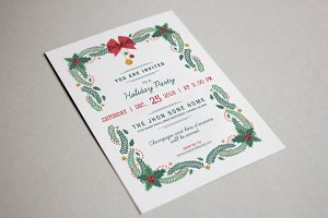 Christmas Invitation, Holiday Party