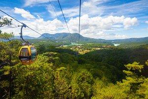Dalat cable car, Vietnam