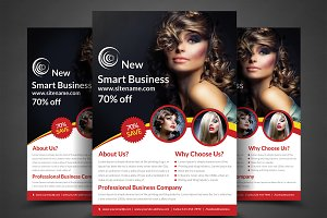Fashion Agency Flyer Print Templates