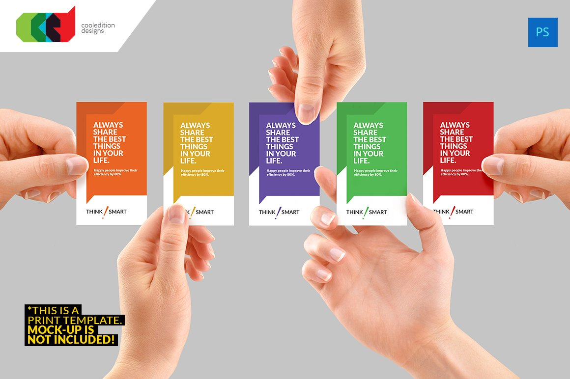 Quote it business card 67 business card templates creative market reheart Gallery