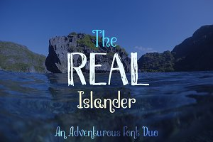 The Real Islander Font Duo