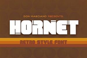 Hornet - Retro Style Font
