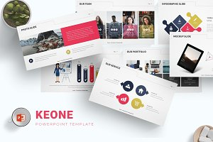 Keone - Powerpoint Template