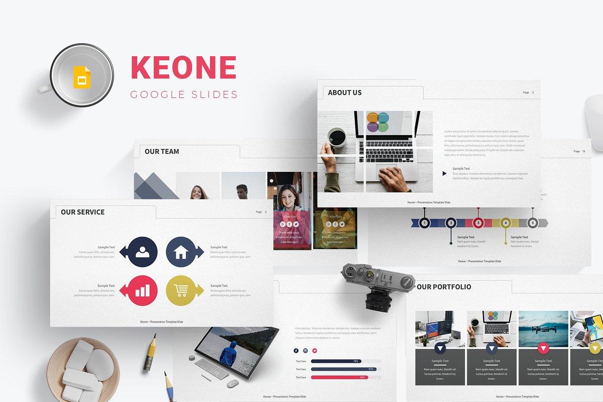 Keone - Google Slides Template ~ Google Slides Templates ~ Creative