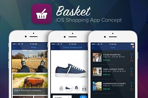 iOS Shopping UI Kit