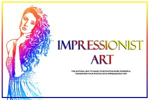 Impressionist Art PS Action
