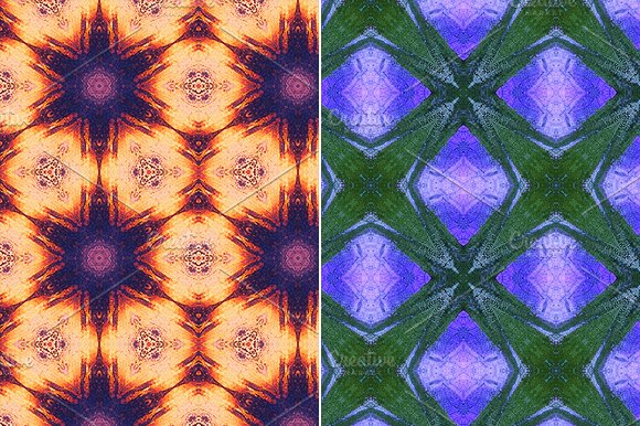 Kaleidoscope Patterns Graphic Patterns Creative Market Adorable Kaleidoscope Patterns