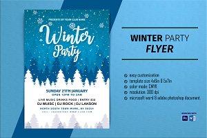 Winter Party Flyer V2