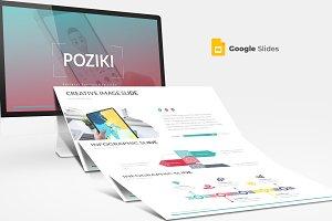 Poziki - Google Slides Template