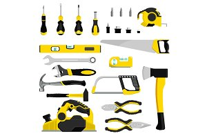 Hand tool vector construction
