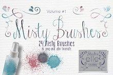 Misty Brushes
