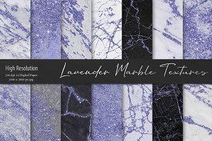 Lavender Marble Textures