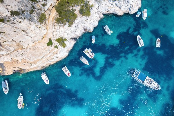 Stock Photos - Yachts at the sea in France