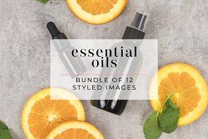 Essential Oils Stock Photo Bundle
