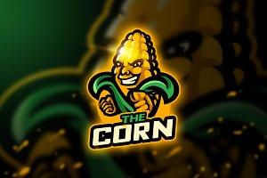 The Corn - Mascot & Esport Logo