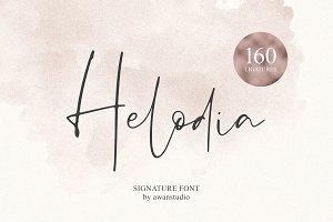 Helodia Signature Font