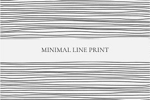 Minimal Line Print