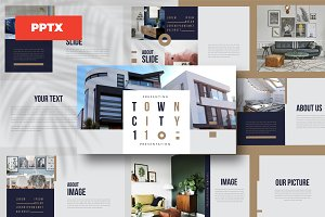 TOWN - Powerpoint Template