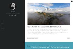 Trooper - Personal WordPress Theme