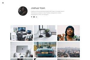 Prophile - Showcase WordPress Theme