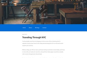 Journal - WordPress Writing theme