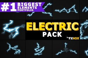 Electric Elements Motion Graphics