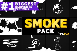 Cartoon SMOKE Motion Graphics