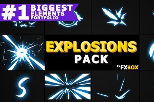 Flash FX Explosion Motion Graphics