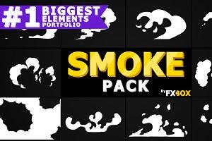 Hand Drawn SMOKE Motion Graphics