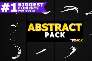 Abstract Shapes Motion Graphics