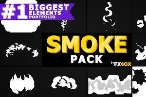 Smoke Elements Motion Graphics