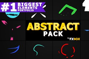Abstract Elements Motion Graphics