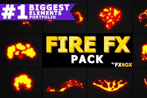 Flammable FX After Effects