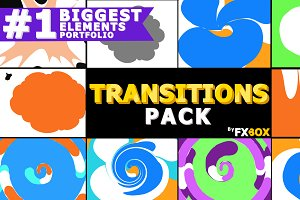 Funny Transitions Motion Graphics