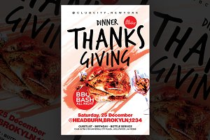 Thanks Giving Flyer