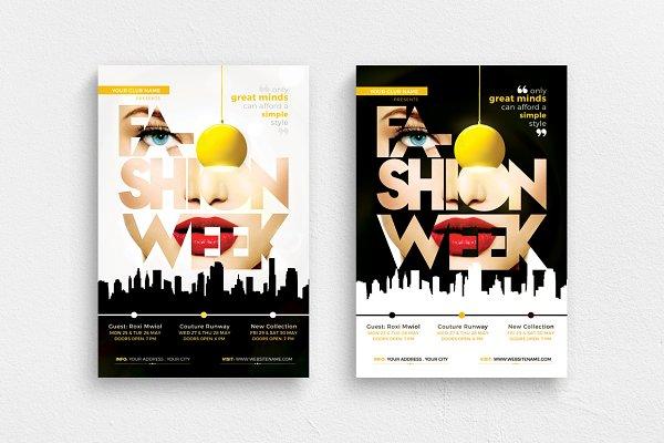 Fashion Week Vol 2 Flyer Template