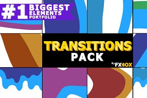 Dynamic Transitions Motion Graphics