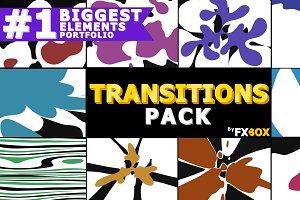 Splash Transitions Motion Graphics