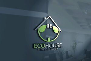 Eco House Logo Version 2