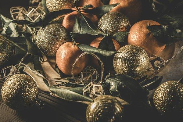 Holiday Stock Photos - Stylish Christmas holiday background