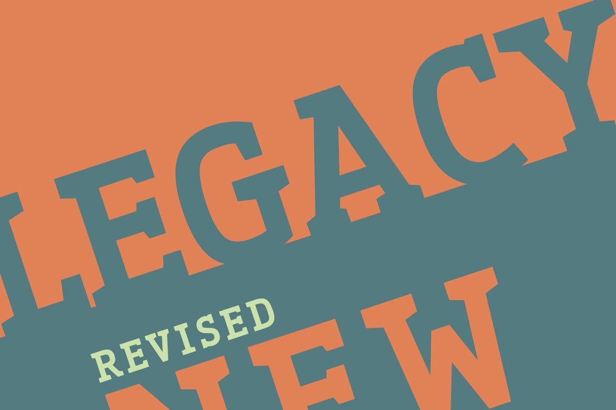 Legacy'17 Pro Typeface