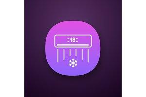 Air conditioner app icon